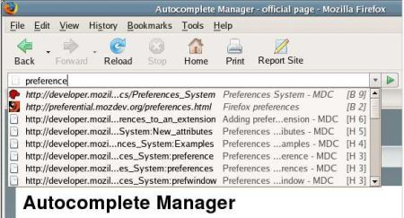 Autocomplete Manager